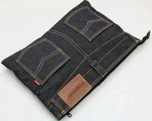 reciclar jeans velhos porta moedas